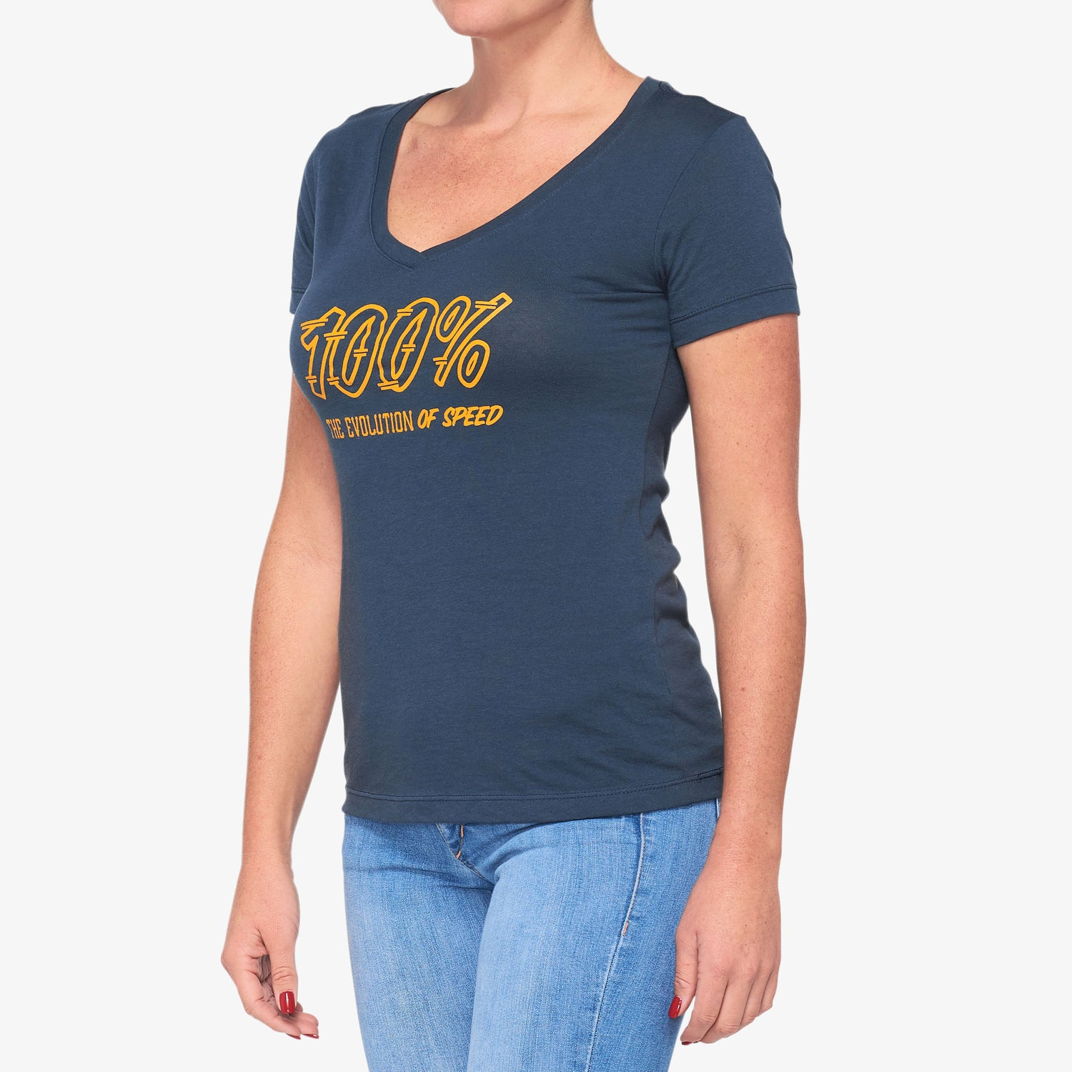SPEEDCO Women's V-Neck Navy