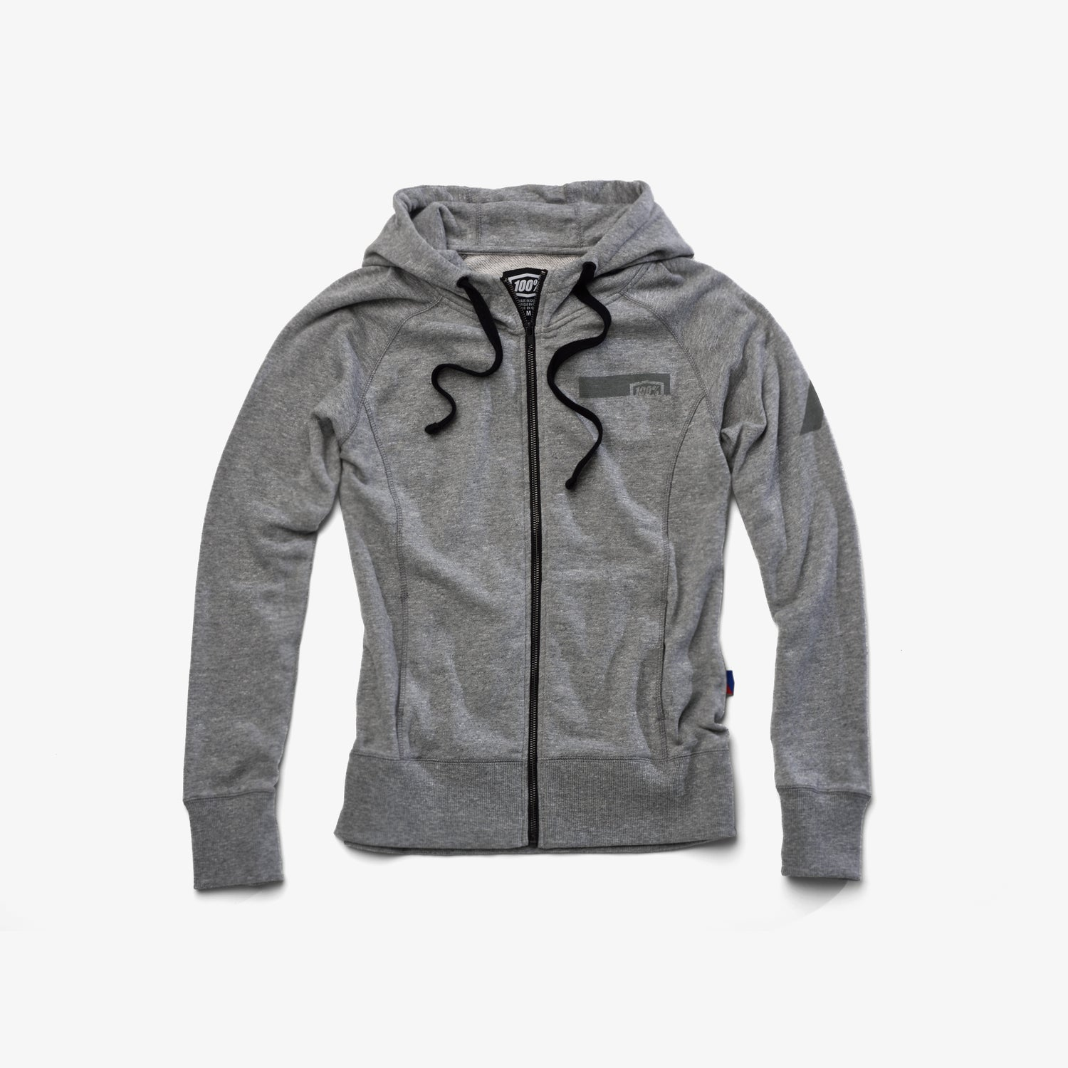 JOURNEY Zip Hooded Sweatshirt - Gunmetal Heather -  Womens