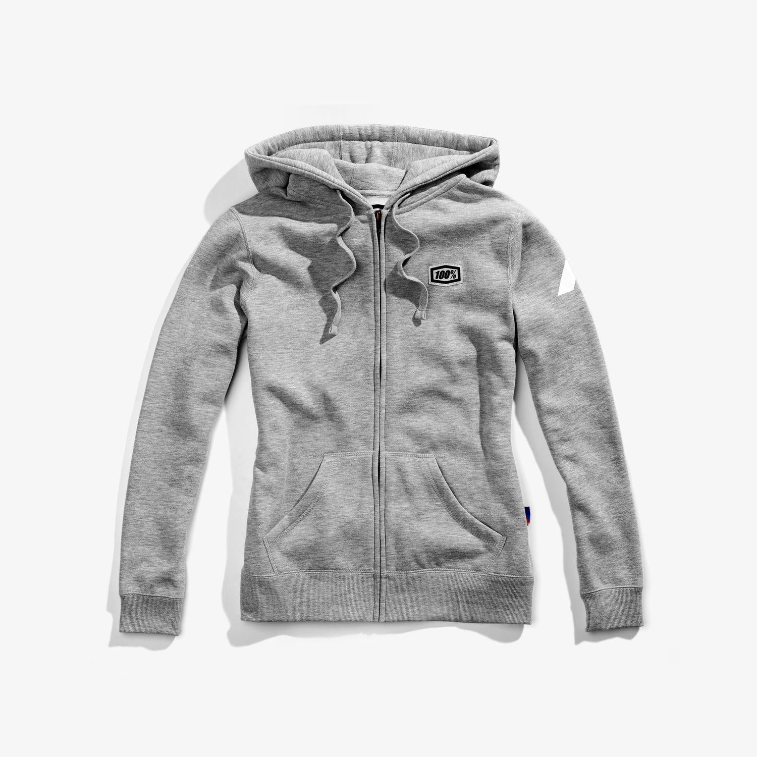 COSMIC Women's Hooded Zip Sweatshirt Grey Heather