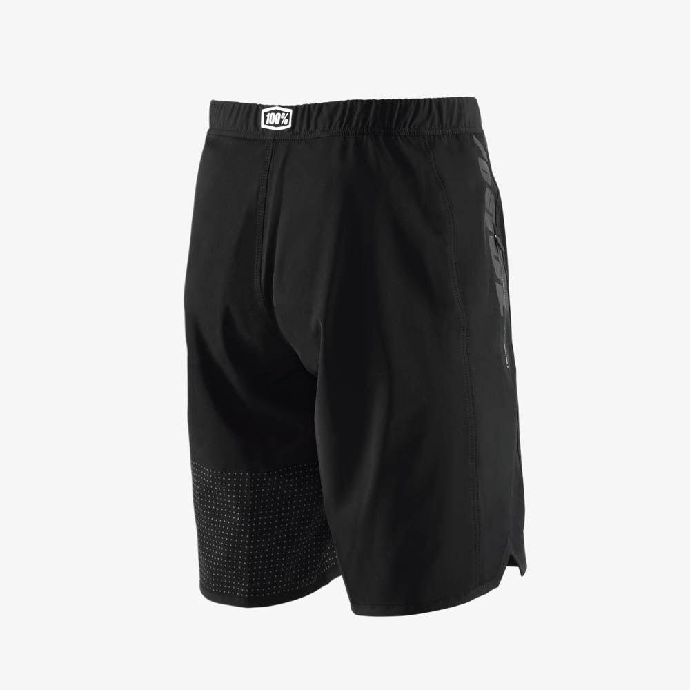DRAFT Athletic Short - Black/Sliver