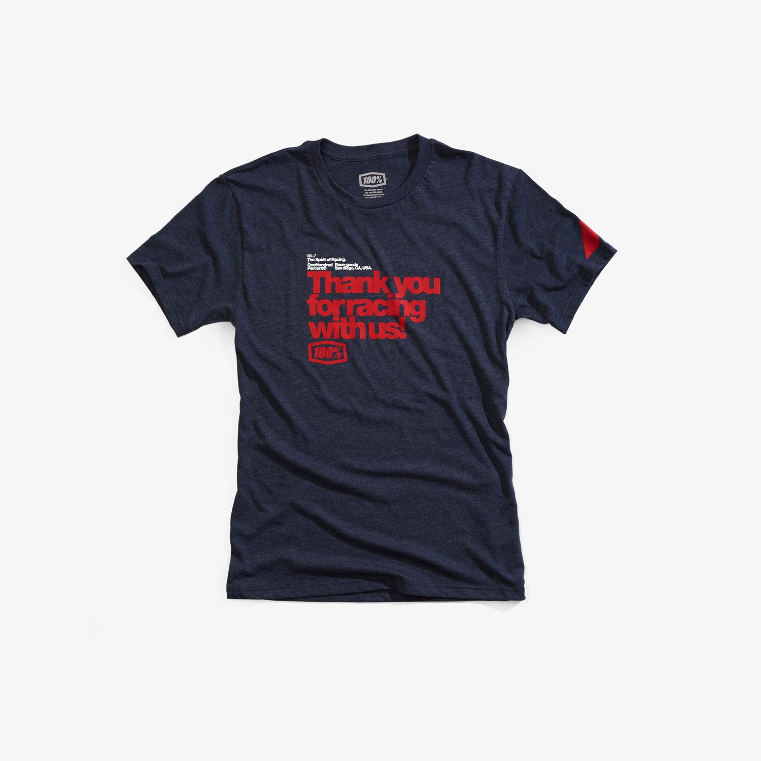 THANKS T-Shirt - Navy Heather