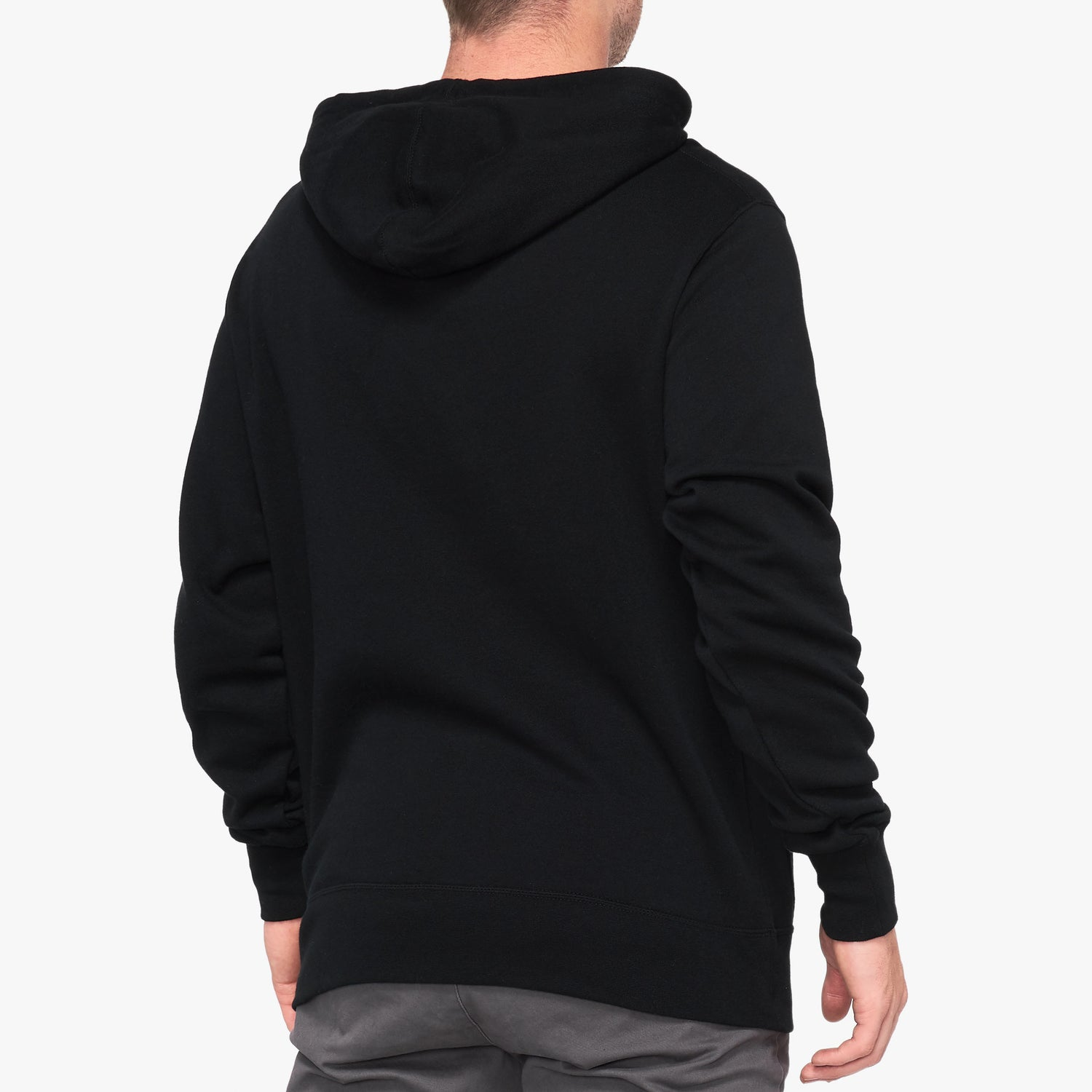 ESSENTIAL Hooded Sweatshirt - Black