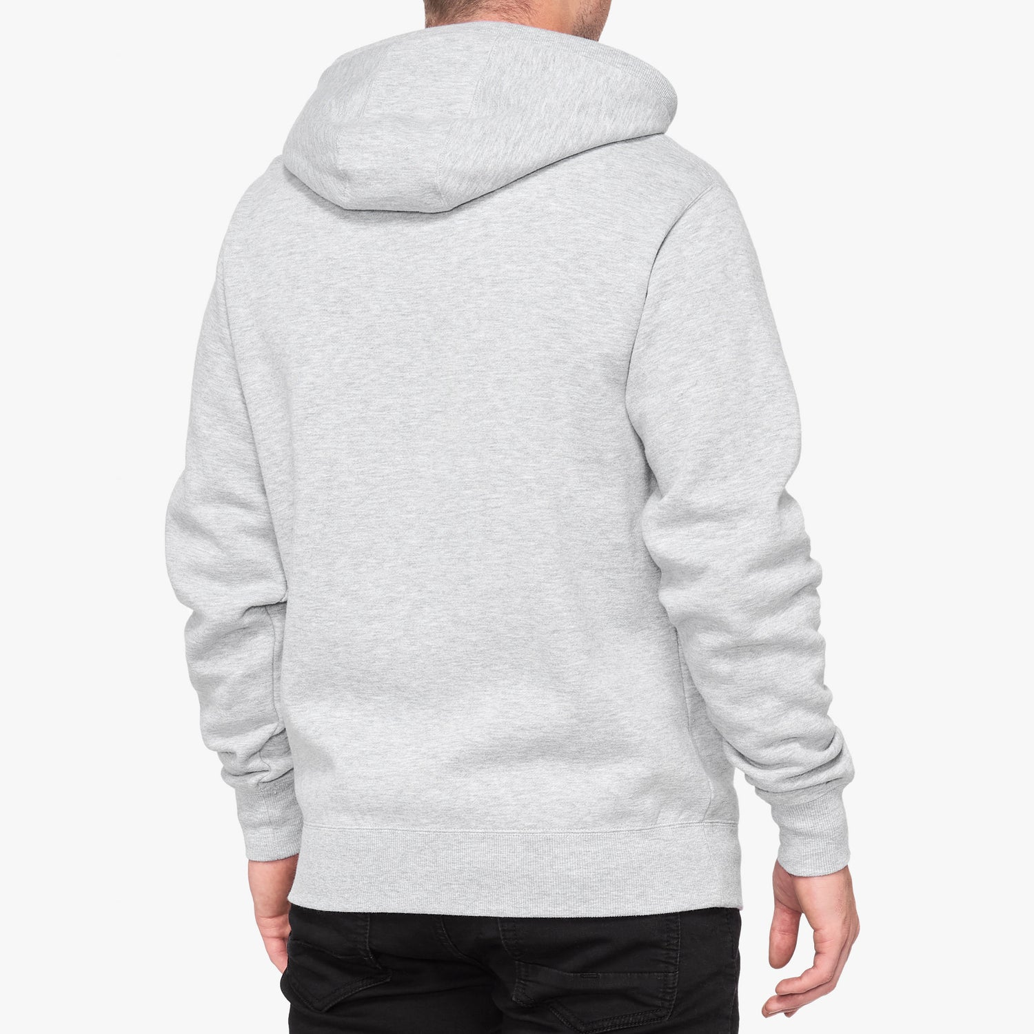 SYNDICATE Hooded Zip Sweatshirt Grey Heather