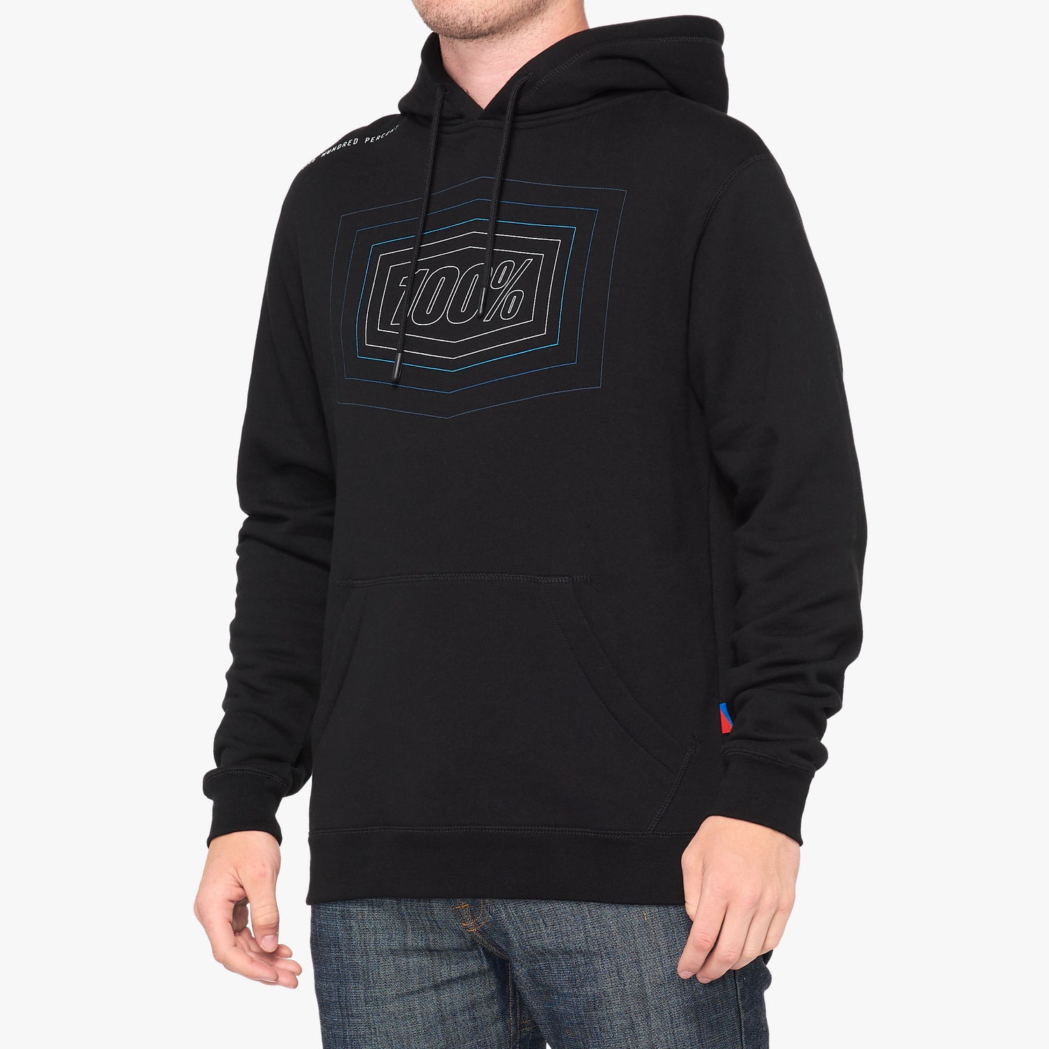 ECHO Hooded Pullover Sweatshirt Black