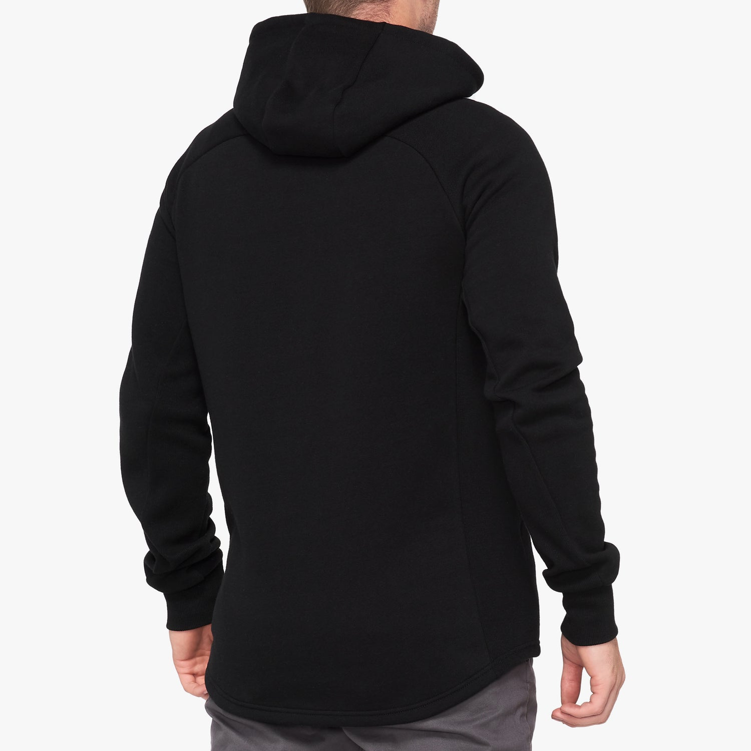 STRATOSPHERE Hooded Zip Tech Fleece Black