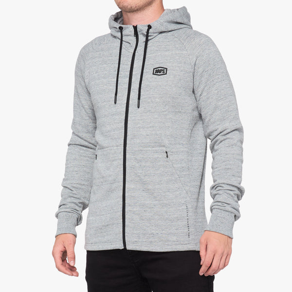 STRATOSPHERE Hooded Zip Tech Fleece Grey Heather