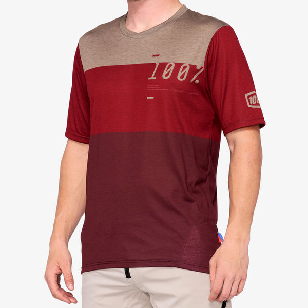 AIRMATIC Jersey Brick/Dark Red