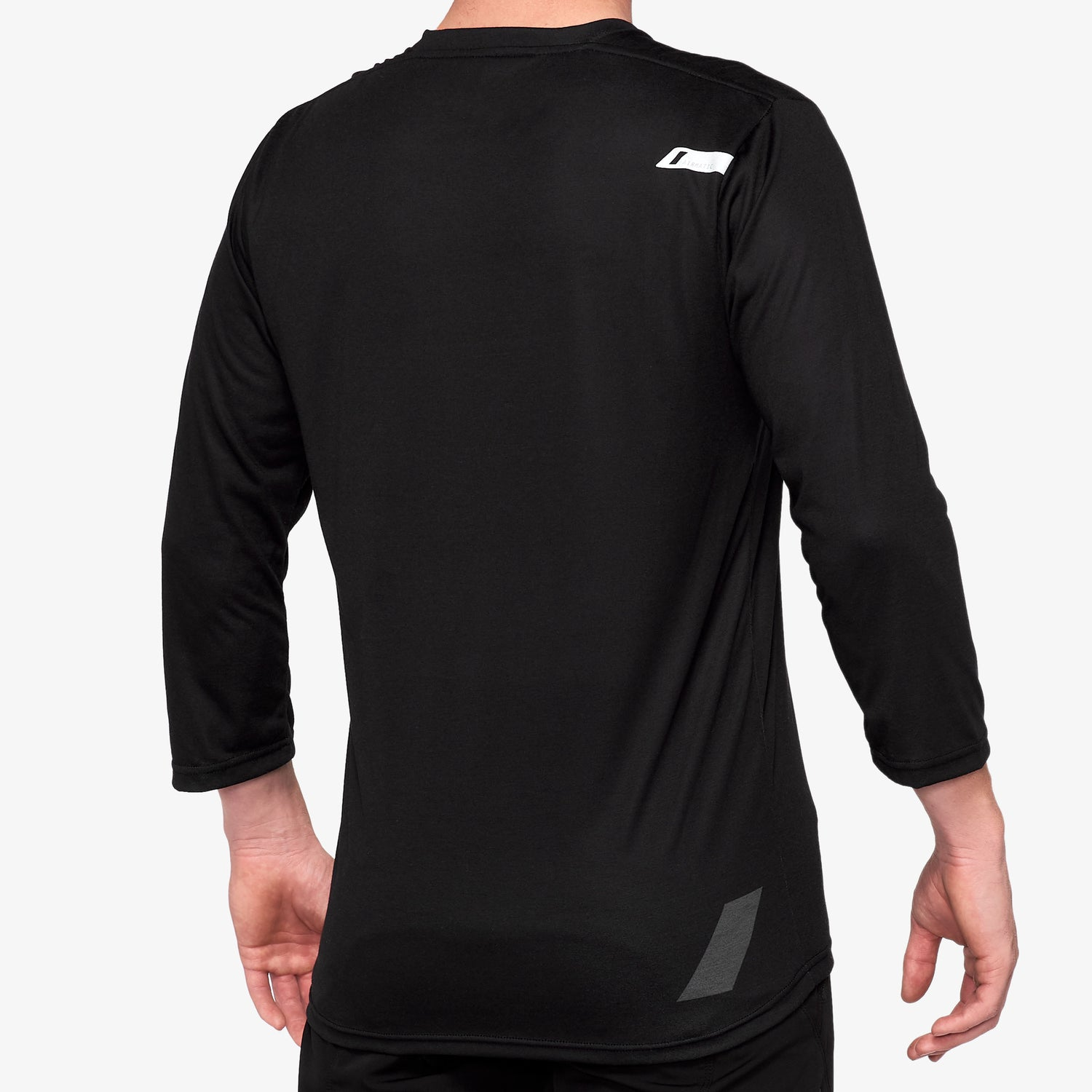 AIRMATIC 3/4 Sleeve Jersey Black