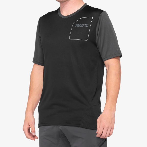 RIDECAMP Jersey Charcoal/Black