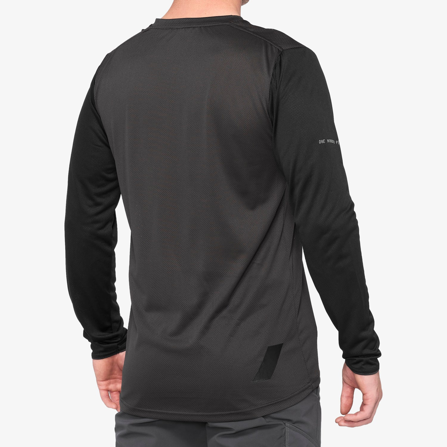 RIDECAMP Long Sleeve Jersey Black/Charcoal