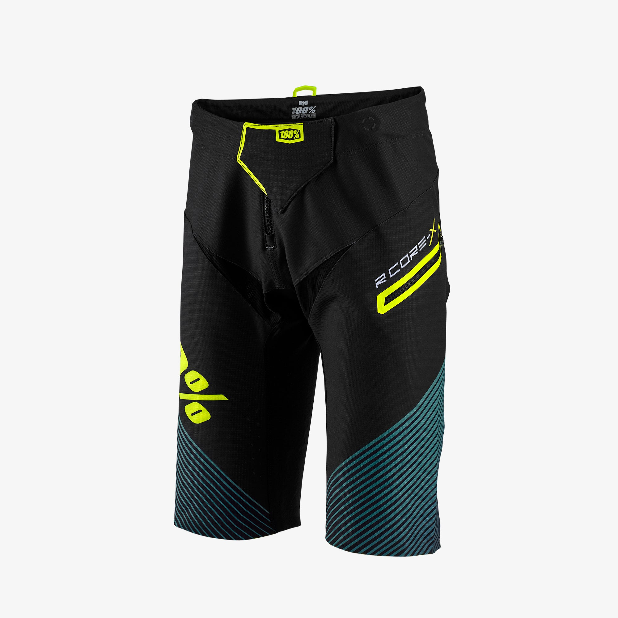 1f44865a16ee04 R-CORE-X Black Downhill Mountain Bike Shorts