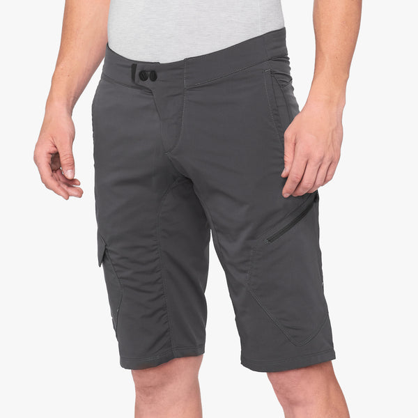 RIDECAMP Shorts - Charcoal