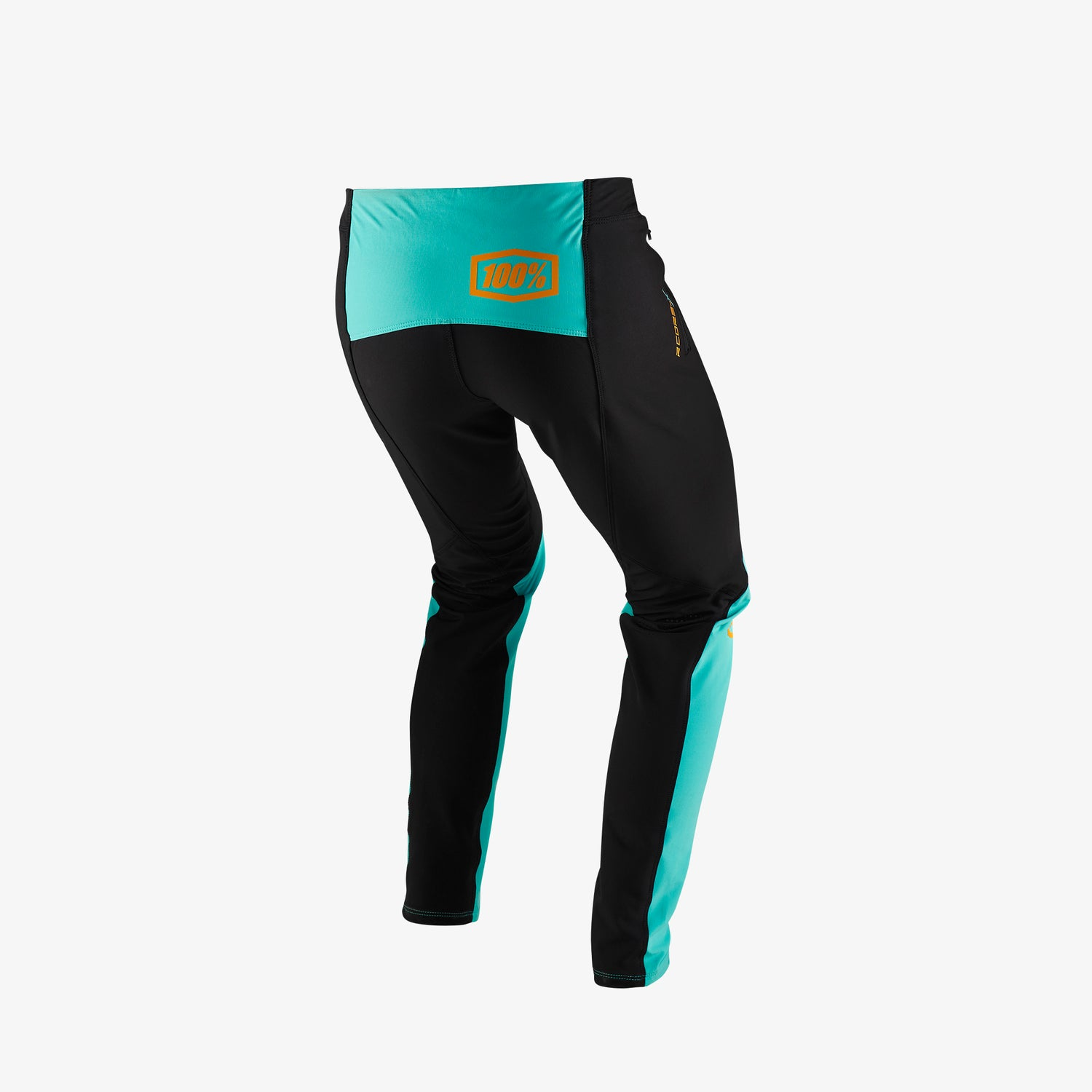 R-CORE-X DH Pants - Black/Cyan