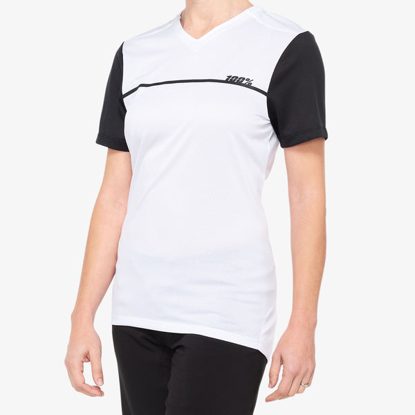 RIDECAMP Women's Jersey White/Black