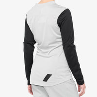 RIDECAMP Women's Long Sleeve Jersey Grey/Black