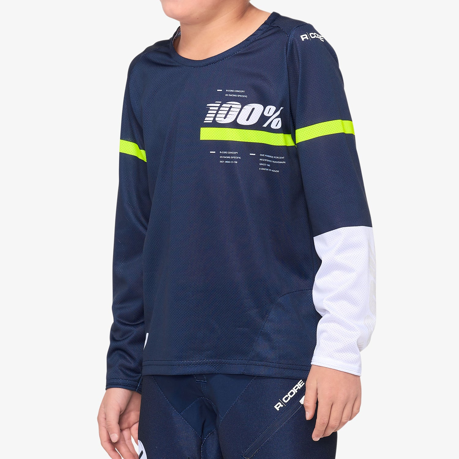 R-CORE Youth Jersey Dark Blue/Yellow