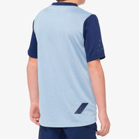 RIDECAMP Youth Jersey Light Slate/Navy