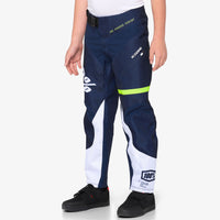 R-CORE Youth Pants Dark Blue/Yellow