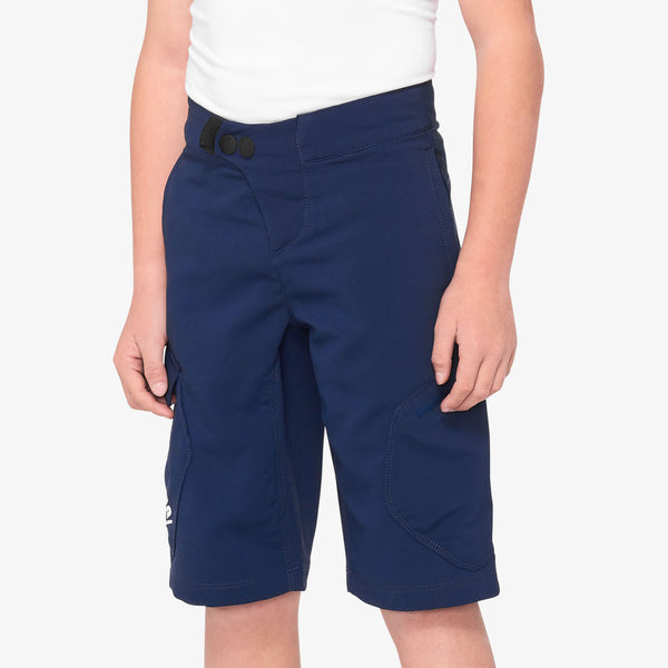 RIDECAMP Youth Shorts Navy