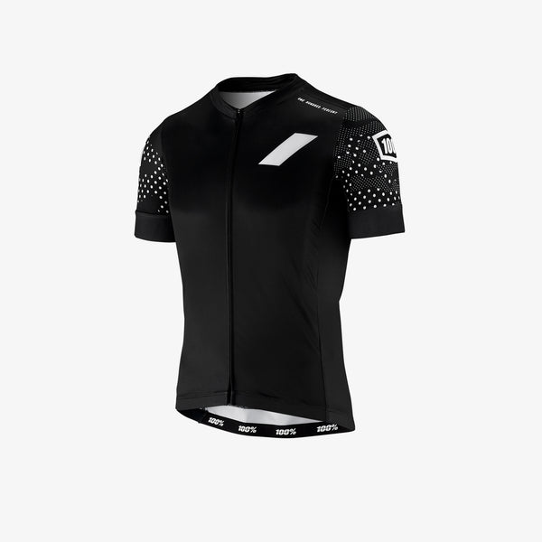 EXCEEDA Zip Jersey - Black