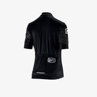 EXCEEDA Zip Jersey - Black - Womens