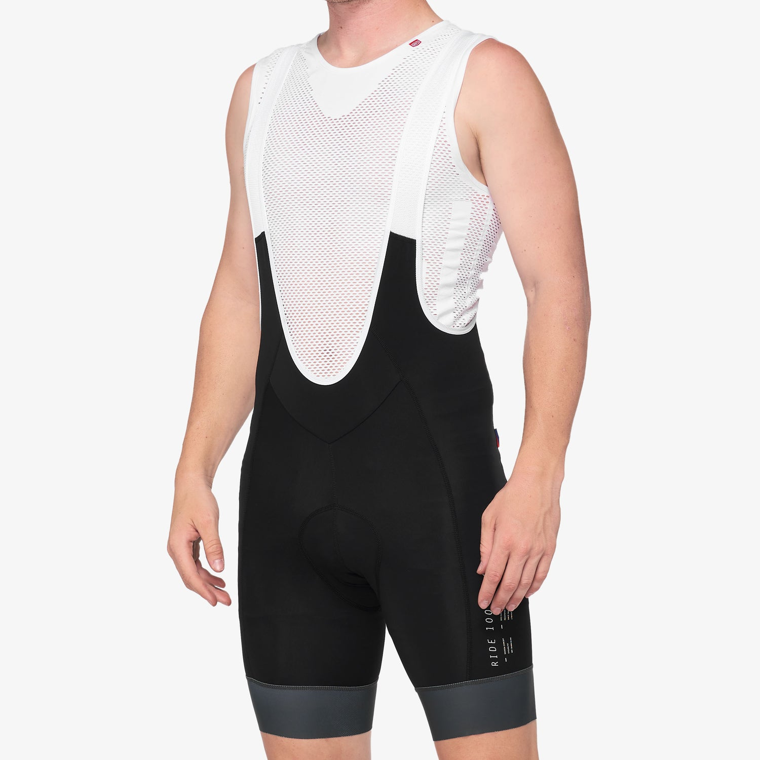EXCEEDA Bib Shorts Black/Charcoal