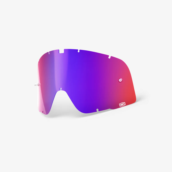 BARSTOW - Replacement Lens - Red/Blue Mirror