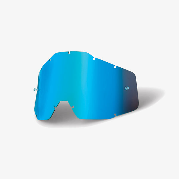 RACECRAFT/ACCURI/STRATA - Replacement Lens - Blue Mirror