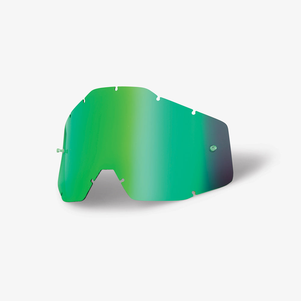 RACECRAFT/ACCURI/STRATA - Replacement Lens - Green Mirror