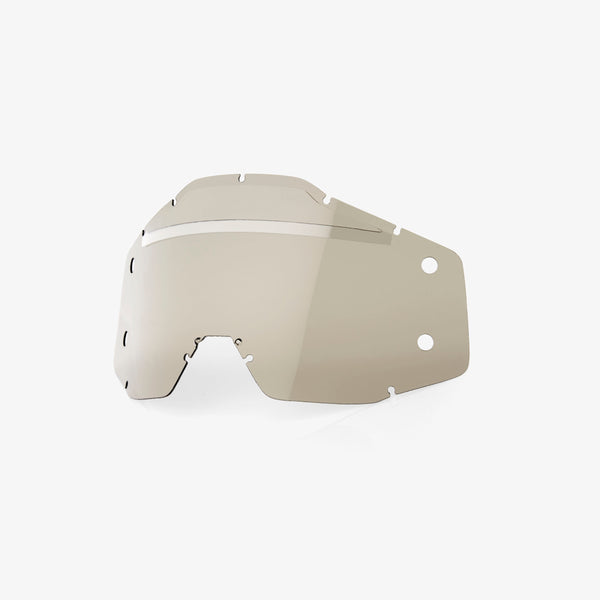ACCURI/STRATA FORECAST Lens No Bumps - w/mud visor -Smoke