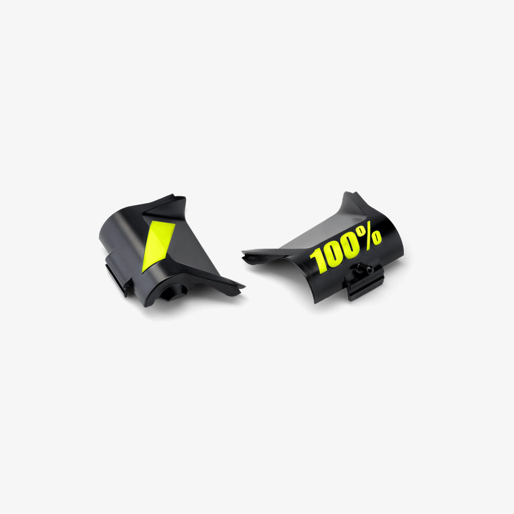 FORECAST Replacement Canister Cover Kit - Fluo Yellow/Black - Pair