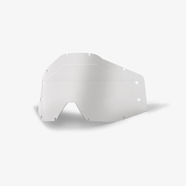 ACCURI FORECAST - Youth Lens Sonic Bumps - w/mud visor - Clear