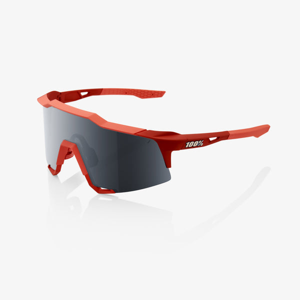 SPEEDCRAFT - Soft Tact Coral - Black Mirror Lens