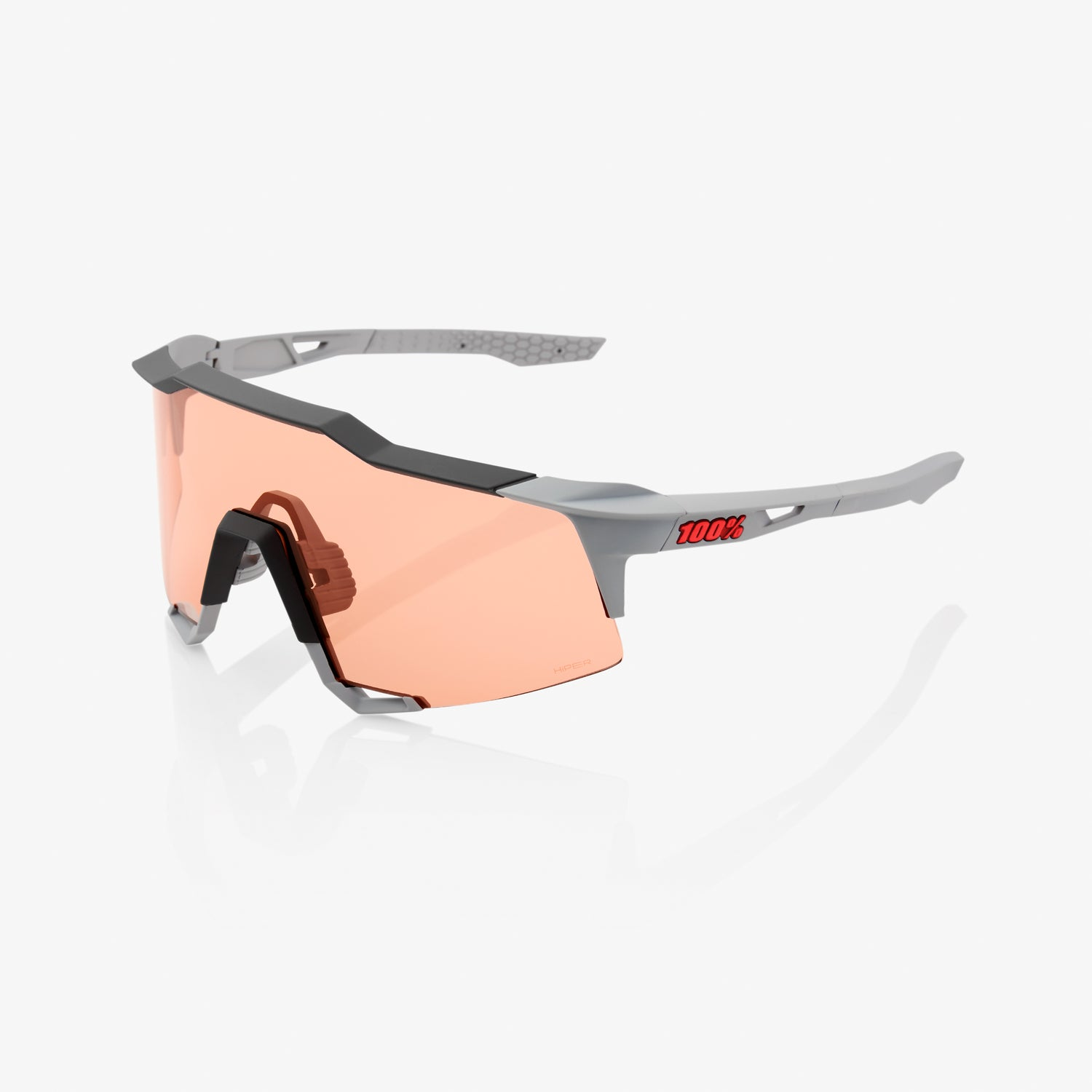 SPEEDCRAFT - Soft Tact Stone Grey - HiPER Coral Lens