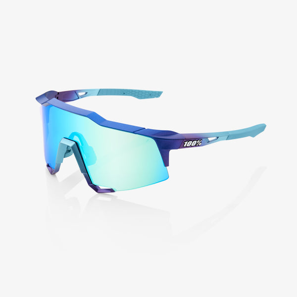SPEEDCRAFT - Matte Metallic Into the Fade - Blue Topaz Multilayer Mirror Lens