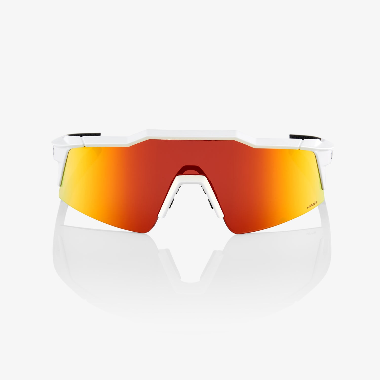 SPEEDCRAFT SL - Soft Tact Off White - HiPER Red Multilayer Mirror Lens