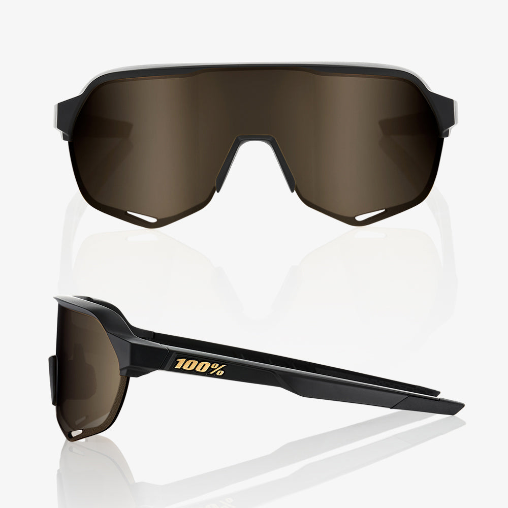 S2 - Matte Black - Soft Gold Lens
