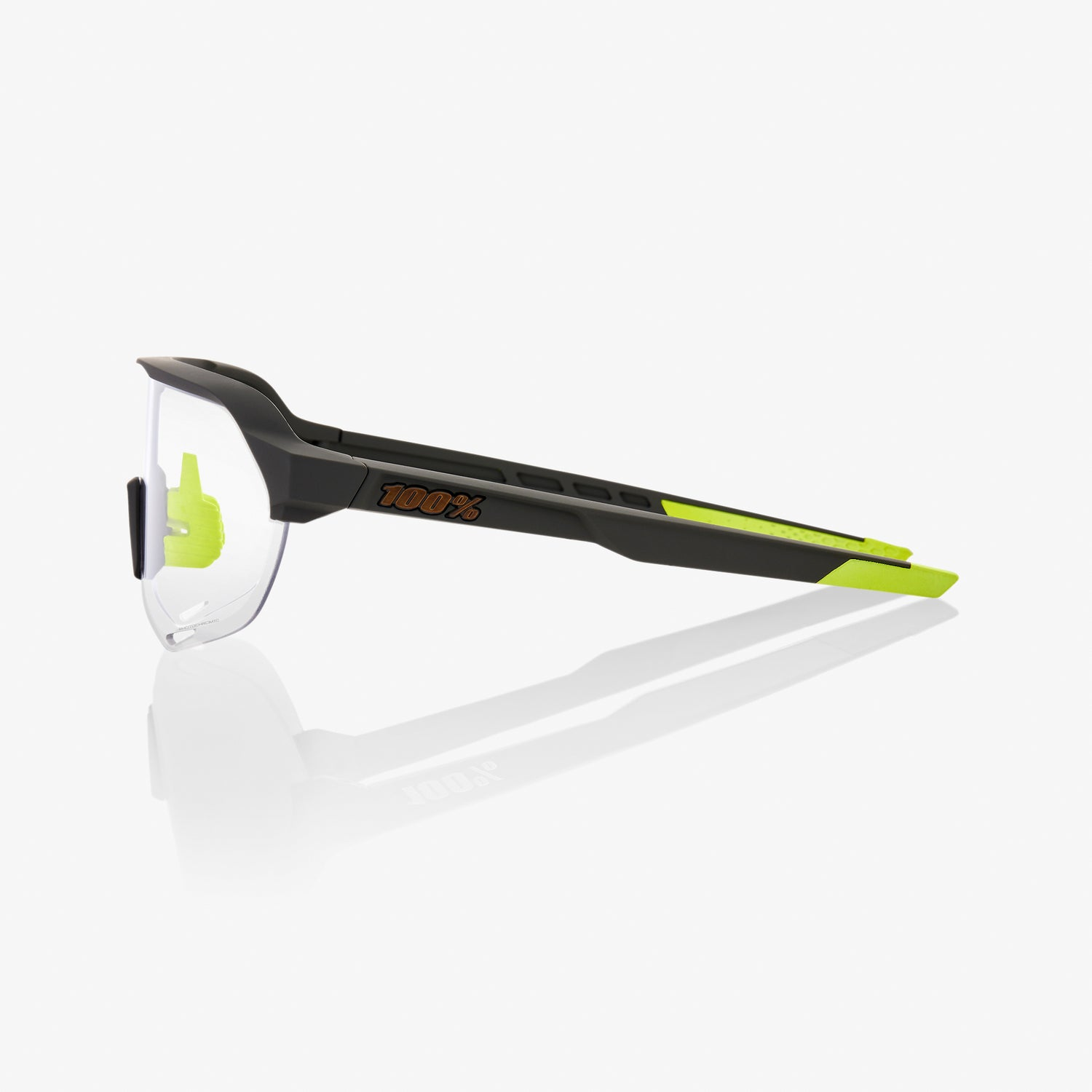 S2 - Soft Tact Cool Grey - Photochromic Lens