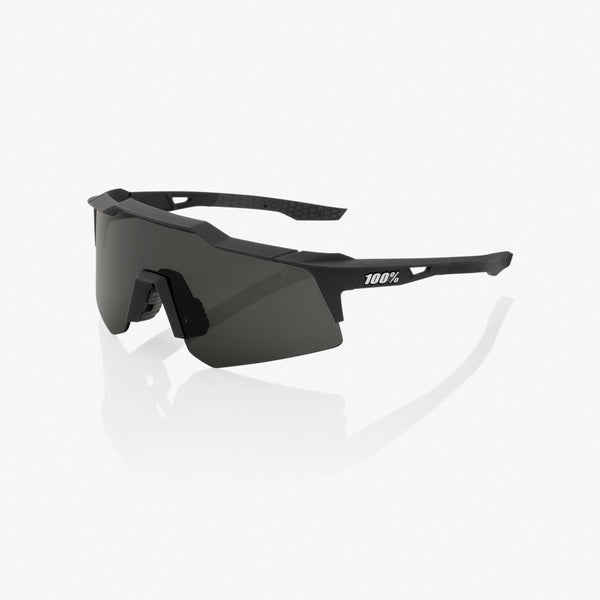 SPEEDCRAFT XS - Soft Tact Black - Smoke Lens