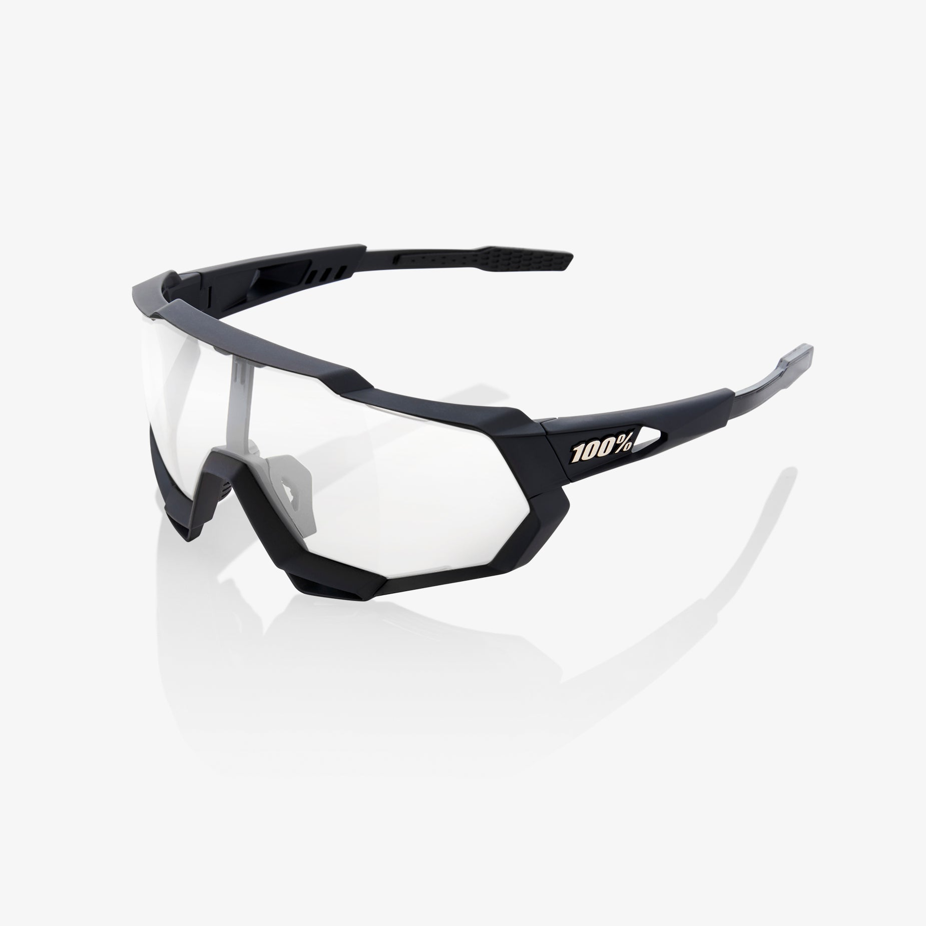 NEW 100/% Speedtrap Soft Tact Black-Hiper Red Mirror Sunglasses 61023-100-43