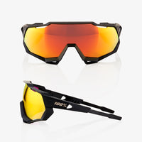 SPEEDTRAP - Soft Tact Black - HiPER Red Multilayer Mirror Lens