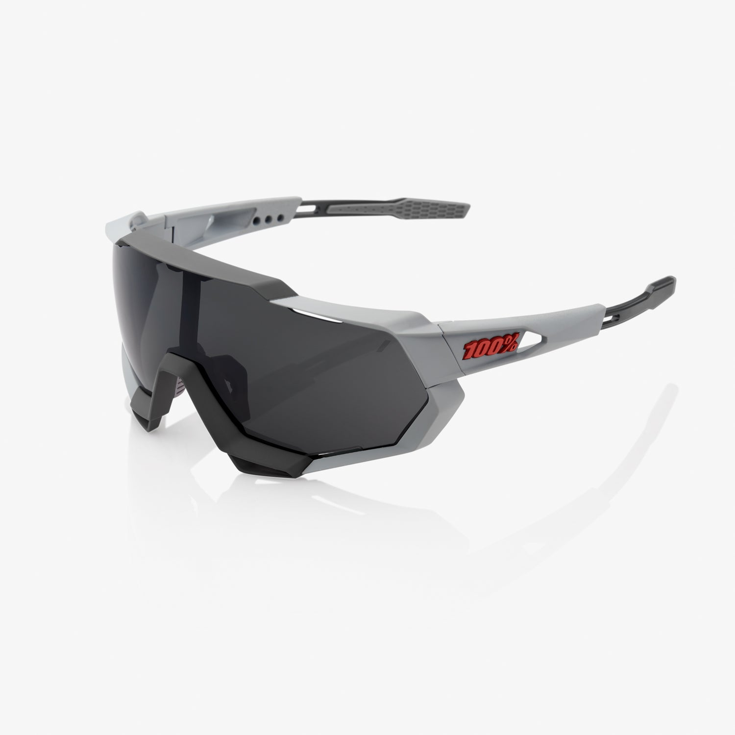 SPEEDTRAP - Soft Tact Stone Grey - Smoke Lens