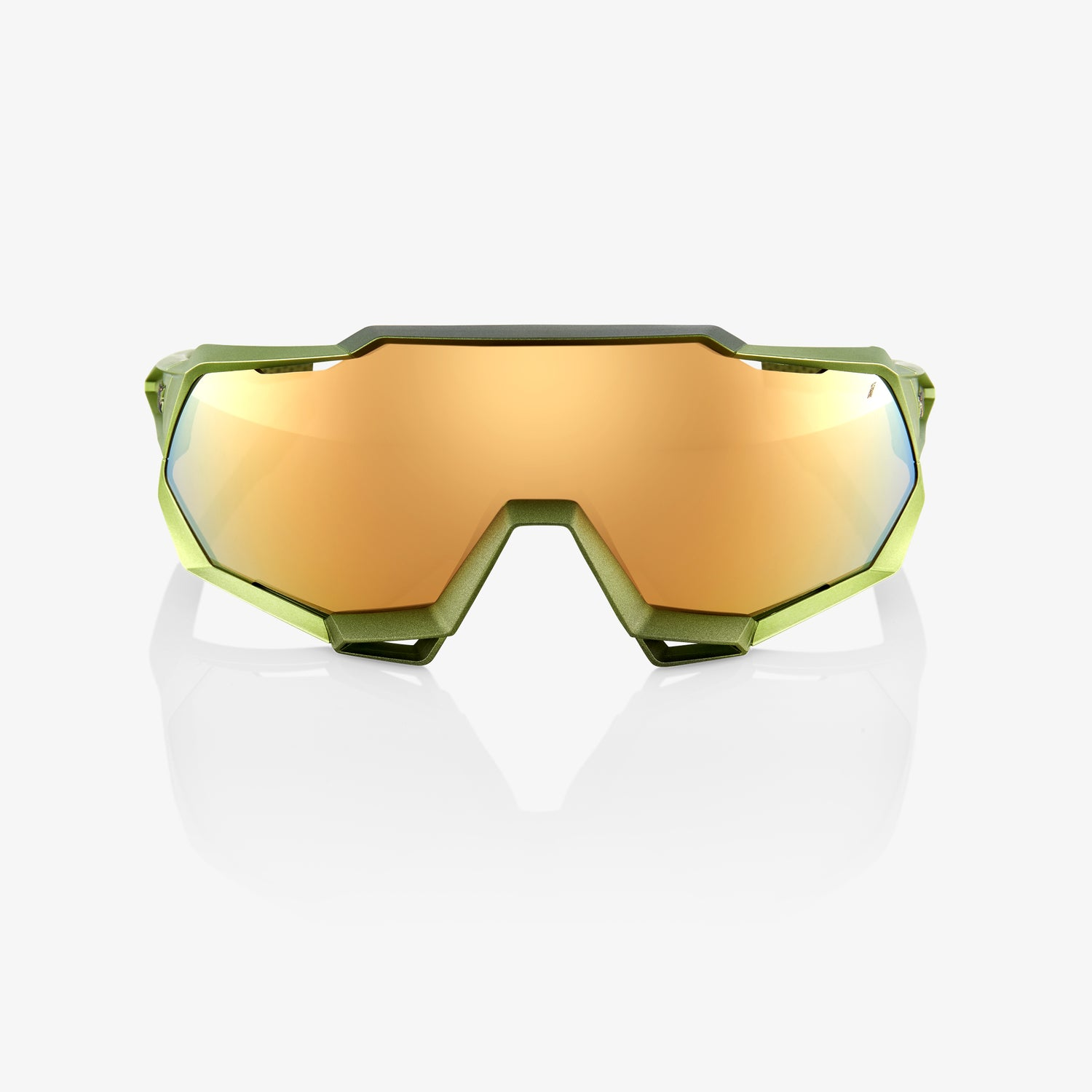 SPEEDTRAP - Matte Metallic Viperidae - Bronze Multilayer Mirror Lens