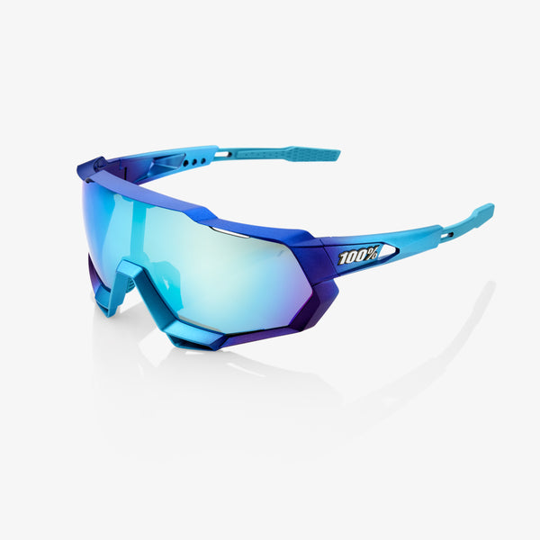 SPEEDTRAP - Matte Metallic Into the Fade - Blue Topaz Multilayer Mirror Lens