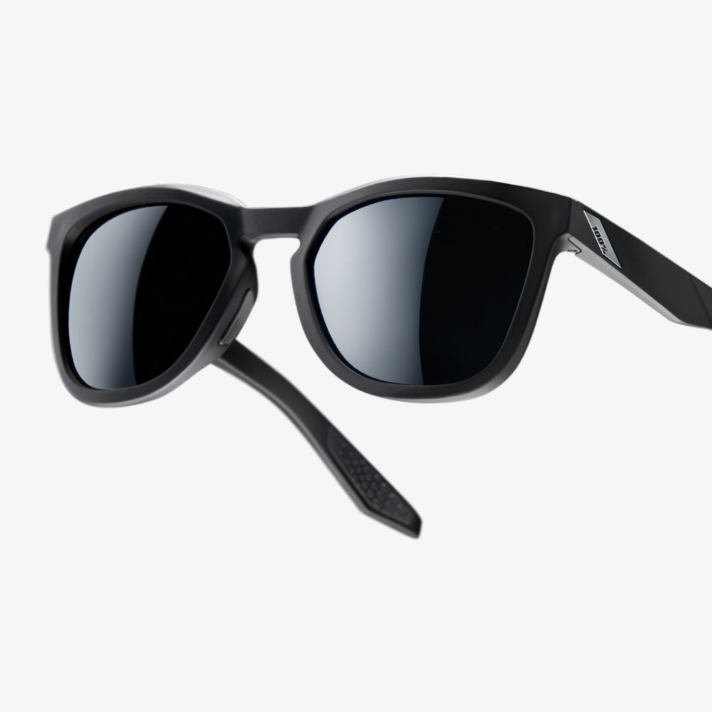 HUDSON - Soft Tact Black - Smoke Lens