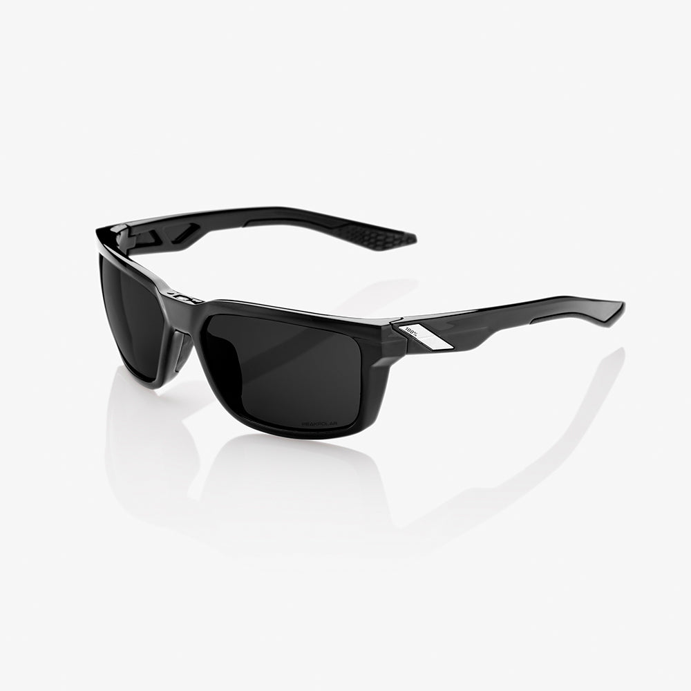 DAZE - Polished Black - Grey PEAKPOLAR Lens