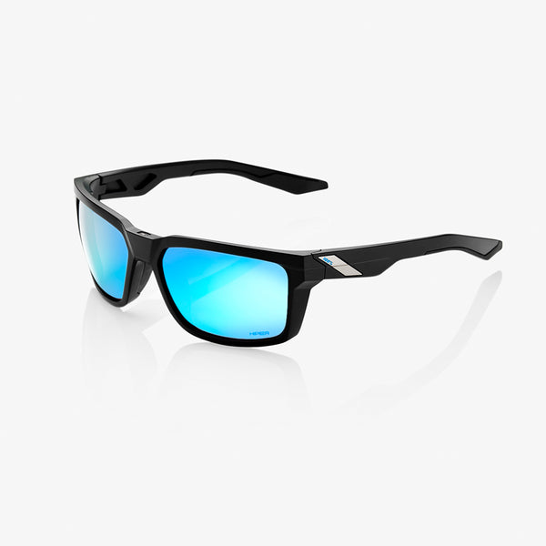 DAZE - Matte Black - HiPER Blue Multilayer Mirror Lens