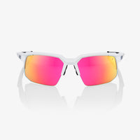 SPEEDCOUPE - Soft Tact Off White - Purple Multilayer Mirror Lens
