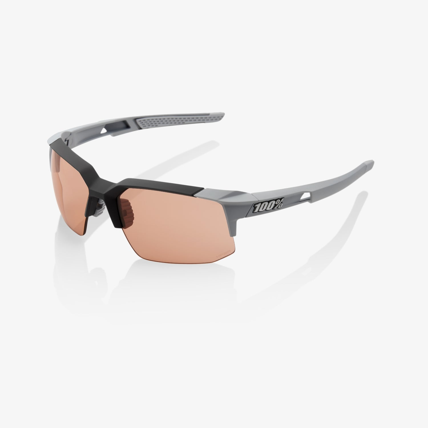 SPEEDCOUPE - Soft Tact Stone Grey - HiPER Coral Lens