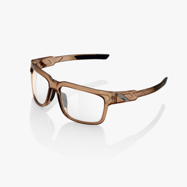 TYPE-S - Matte Translucent Crystal Sepia - Clear Lens